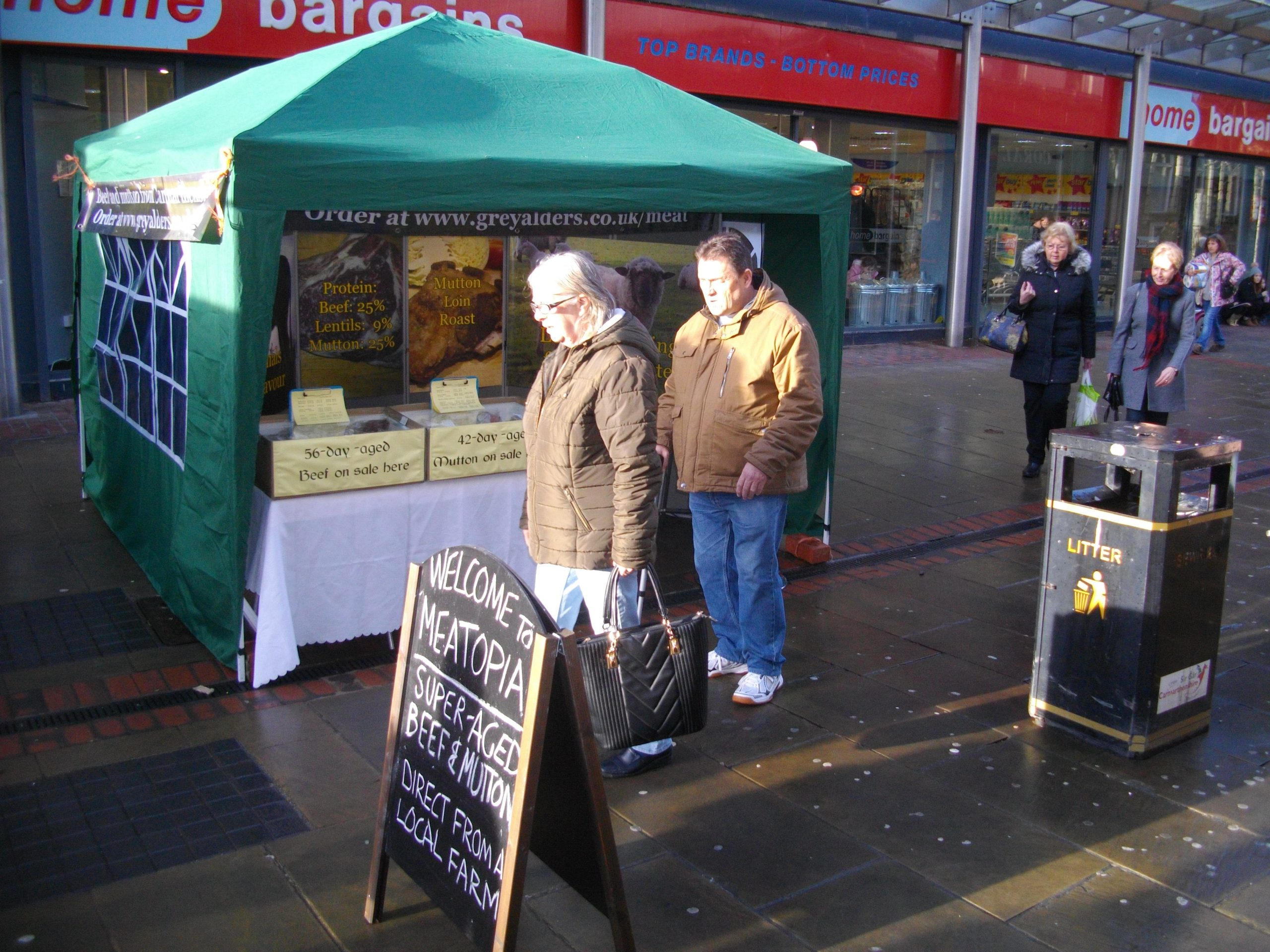 Grey Alders Market Stall