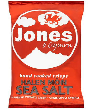 Jones Crisps Sea Salt